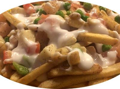 Cheese Fries Salad